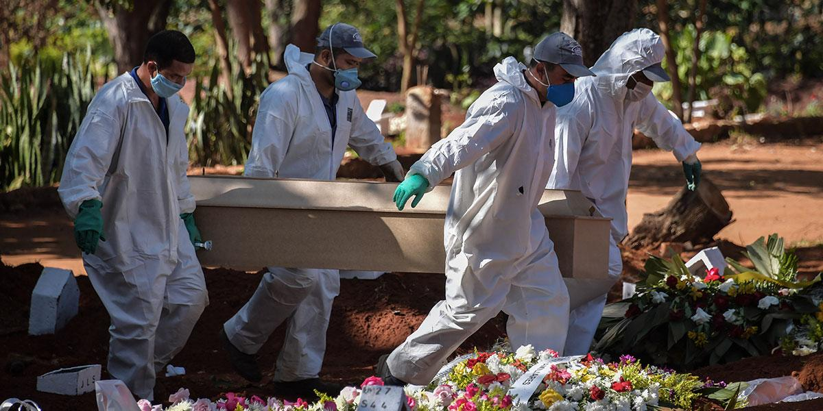 Brasil supera los 25.000 muertos por COVID-19