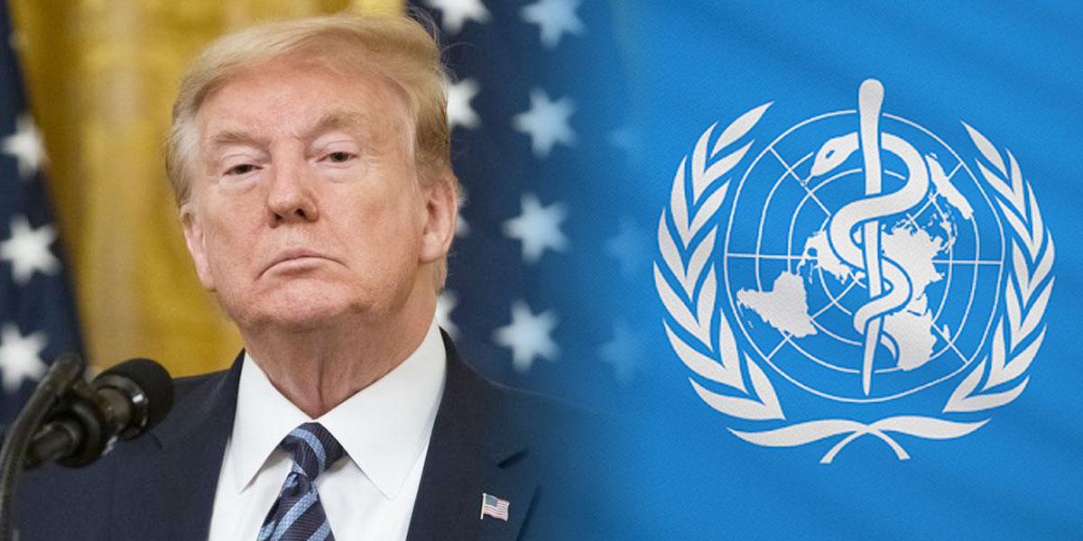Trump anuncia que EE. UU. pone fin a su relación con la OMS