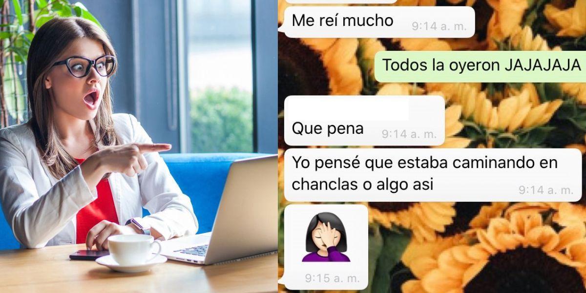 clase virtual interrumpida estudiante relaciones colombia