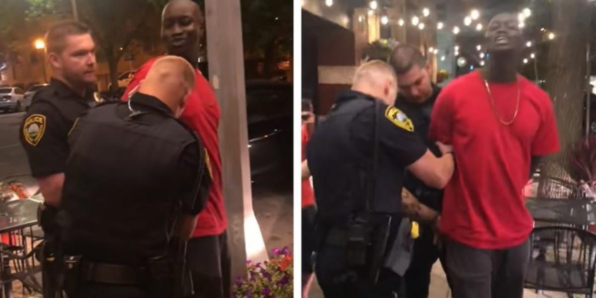 Video arresto racismo