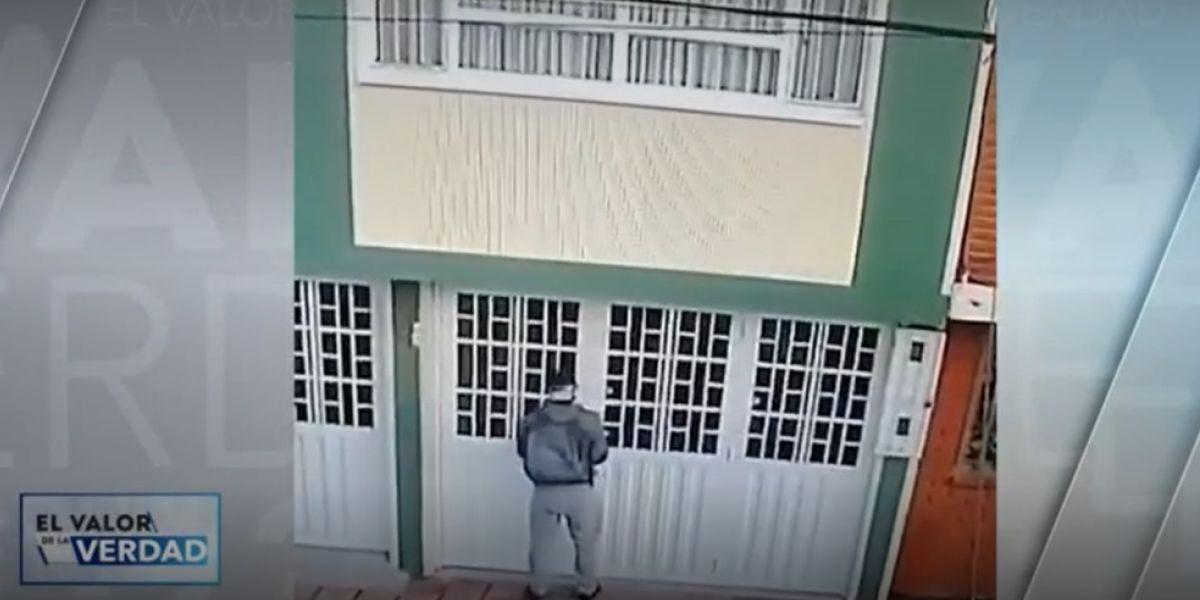 Presunto ladrón en Engativá.