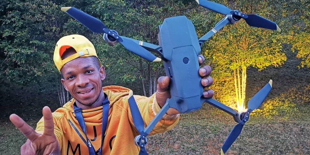historia de hamilton mosquera hatu experto en drones nasa