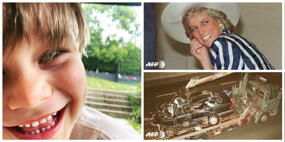 Niño reencarnación Princesa Diana