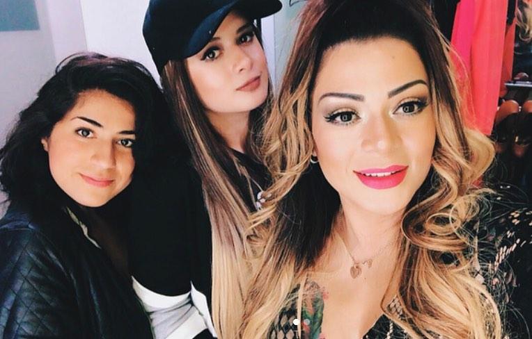 Marbelle y sus hijas
