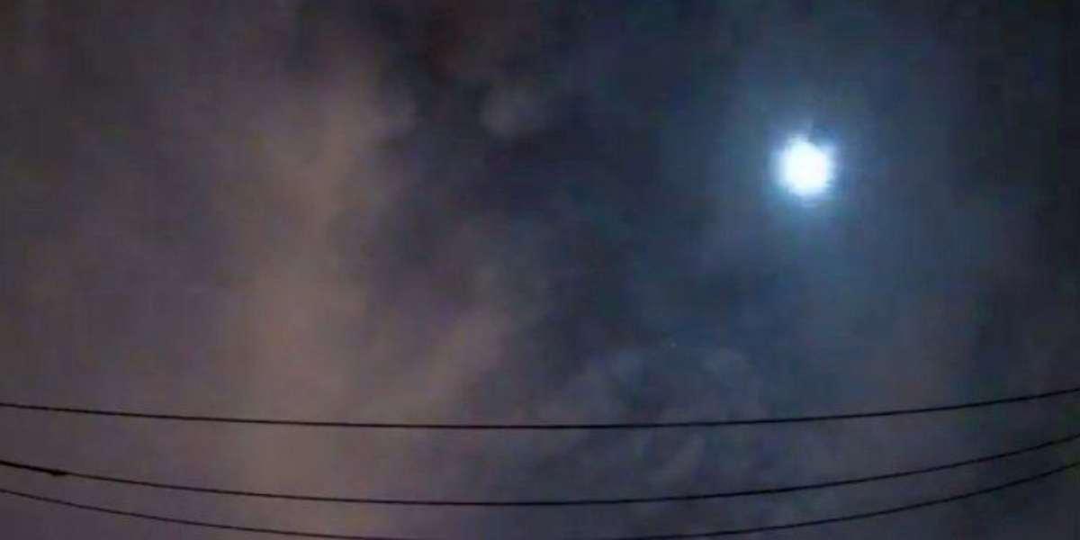 Meteorito estalló en Japón