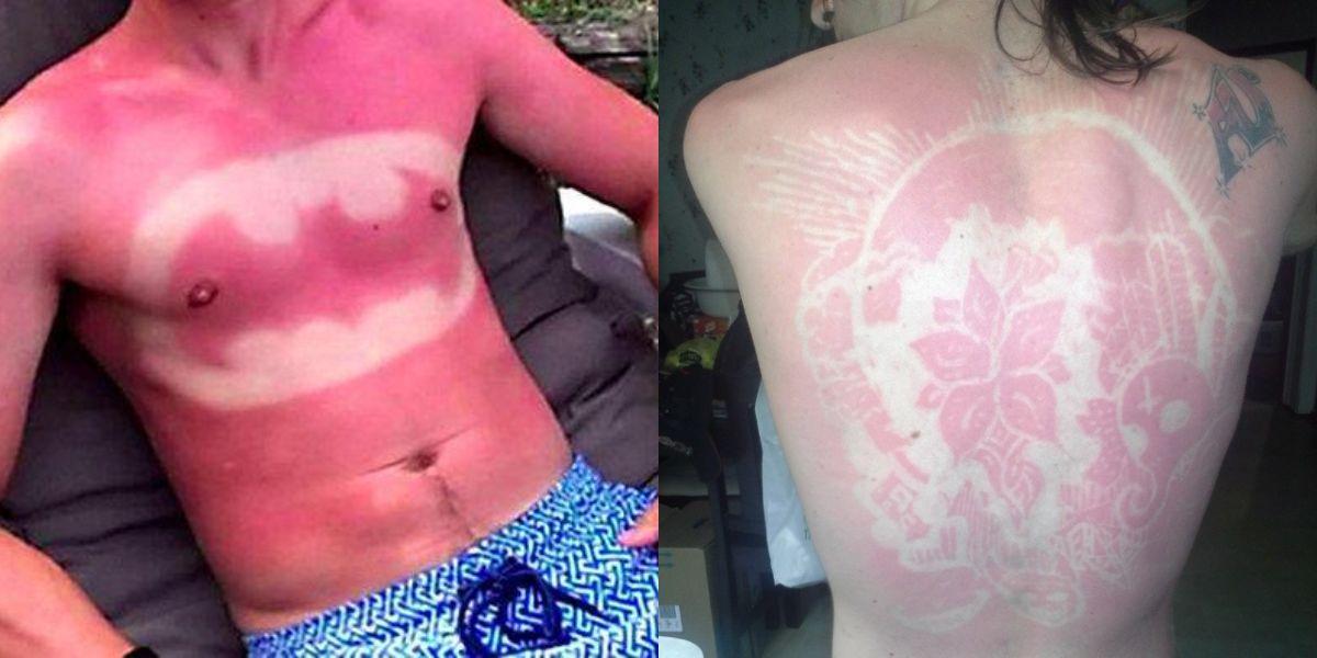 sunburnart tatuajes sol tendencia moda