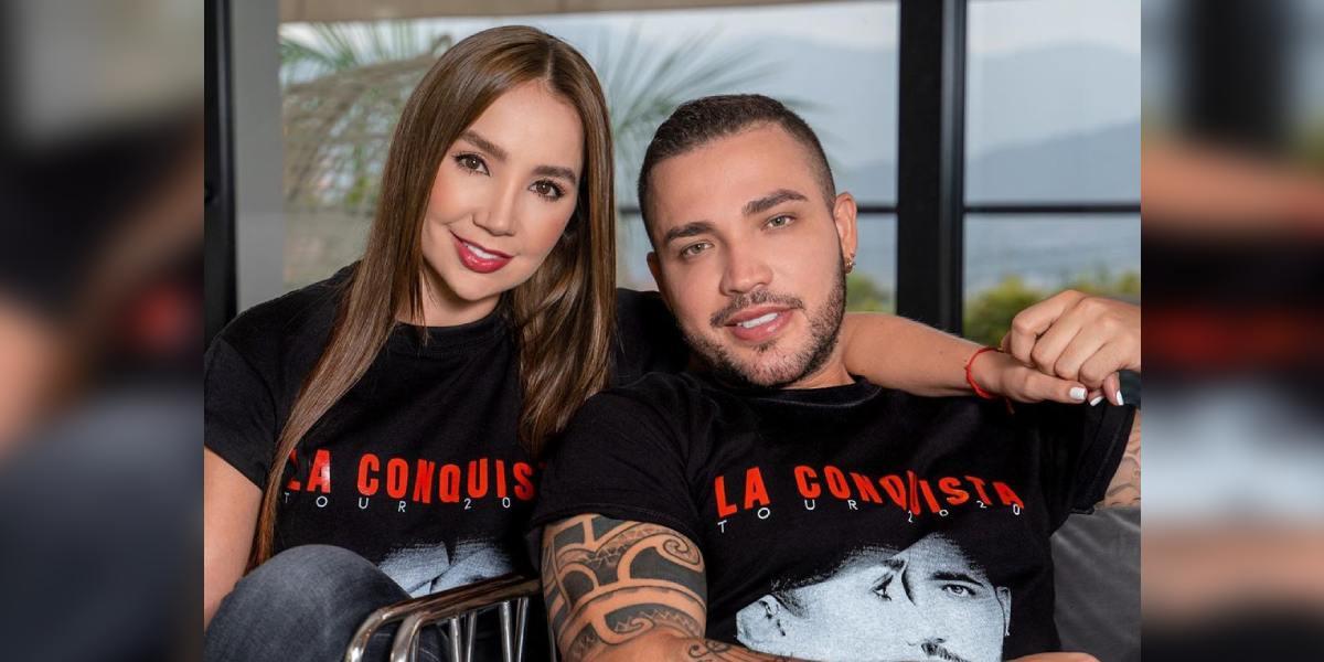 Paola Jara y Jessi Uribe celebraron su primer aniversario