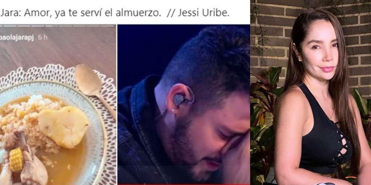 memes Paola Jara y sudado para Jessi Uribe