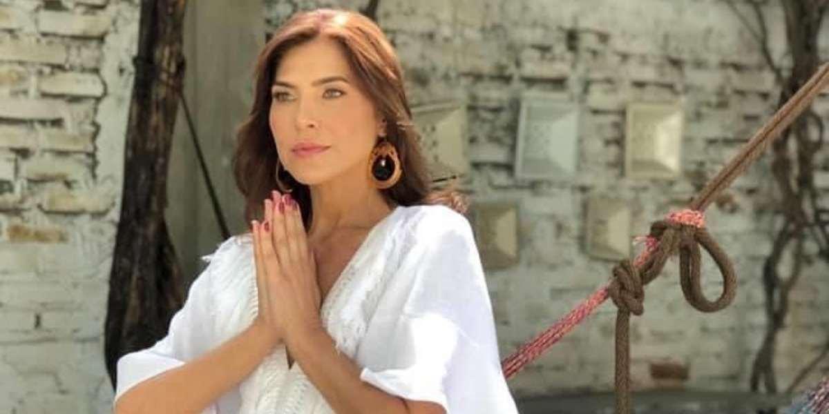 Lorena Meritano agredida