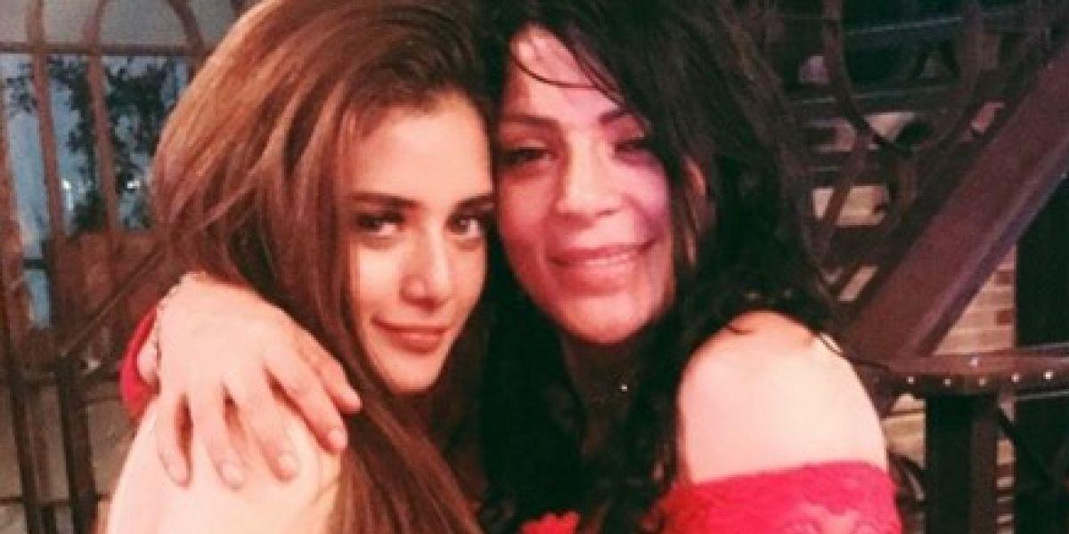 Marbelle y su hija Rafaella