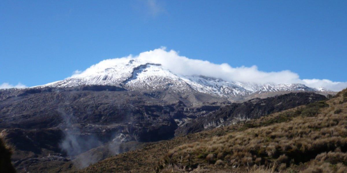 volcan nevado del ruiz manizales