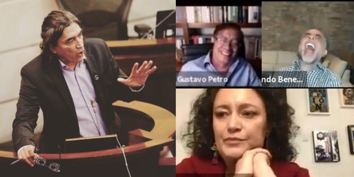 gustavo bolivar responde insultos angelica lozano video