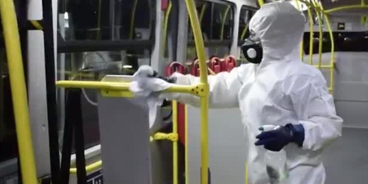 parte con mas basterias transmilenio buses sillas tubos