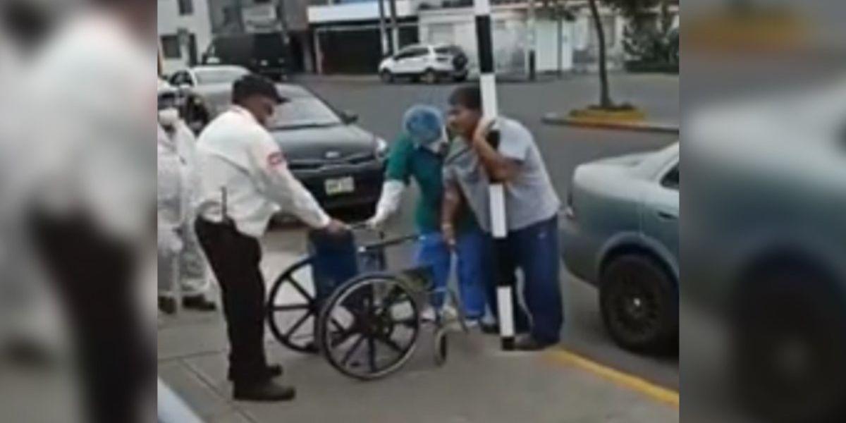 hombre coronavirus escapa de hospital peru