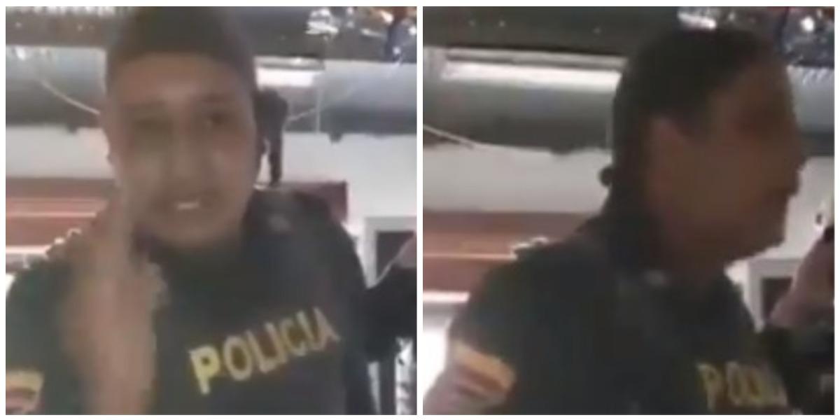 Policía amenazó a menor de edad