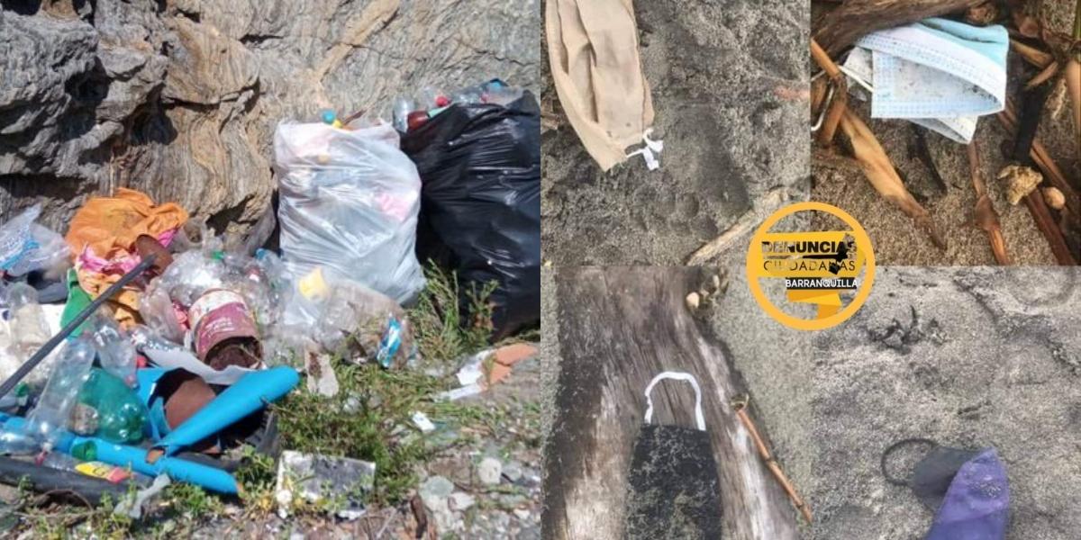 playas basura colombia