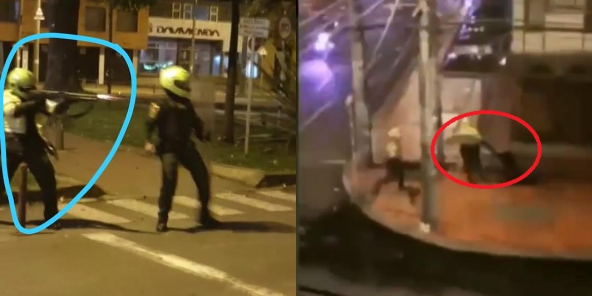 policias violencia videos