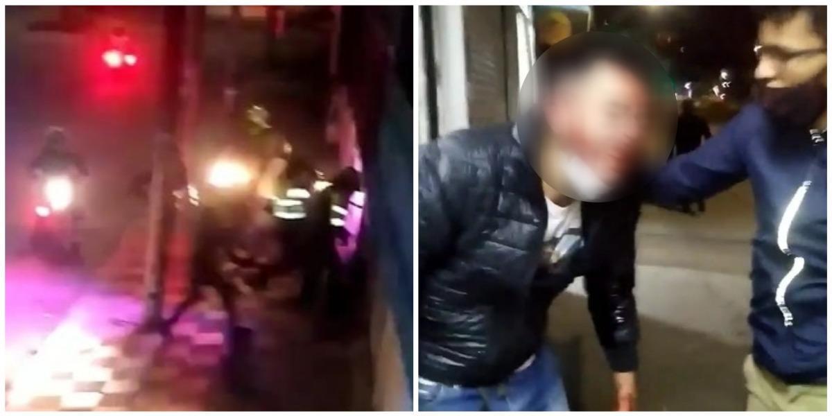 Denuncian agresión de la Policía