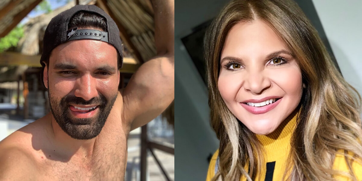 Rafael Caparroso respondió a quienes dicen que su relación con Diva Jessurum fue por interés