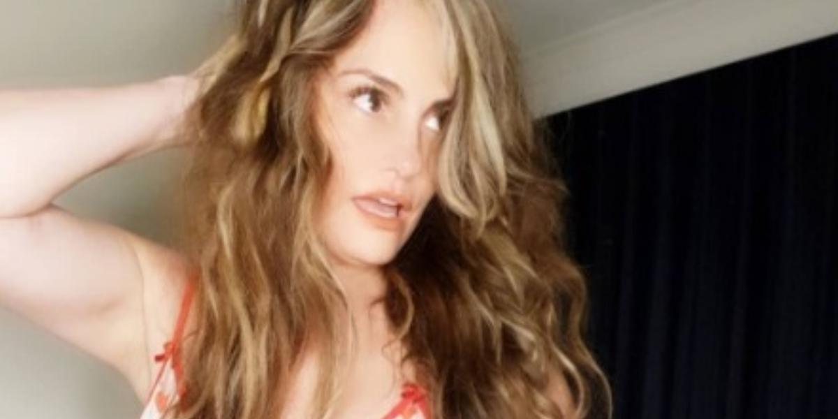 Aura Cristina Geithner y sensuales fotos