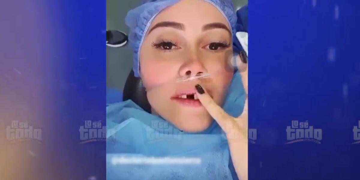 «No era mentira»: Manuela Gómez mostró que perdió un diente