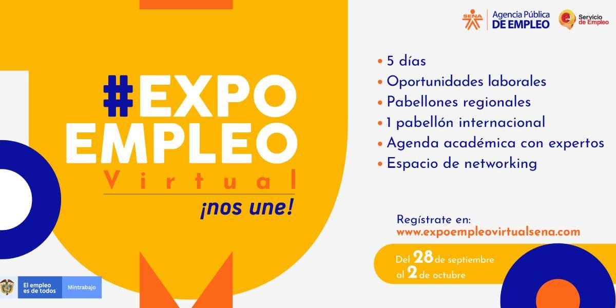 ExpoEmpleo Virtual 2020: una oportunidad del SENA para conseguir trabajo