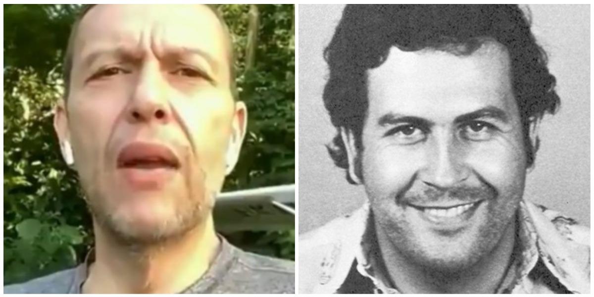 Nicolás Gaviria, sobrino de Pablo Escobar encontró supuesta caleta de su tío