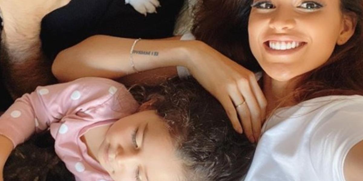 Hija de Andrea Tovar tiene COVID-19