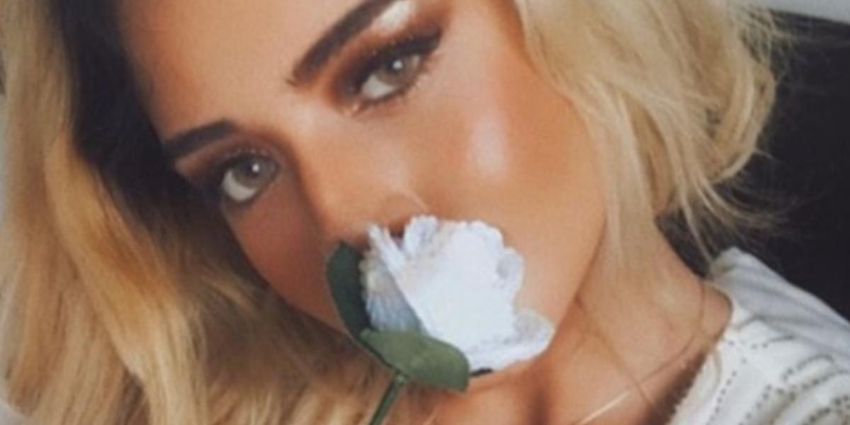 Rafaella fue criticada por foto con maquillaje