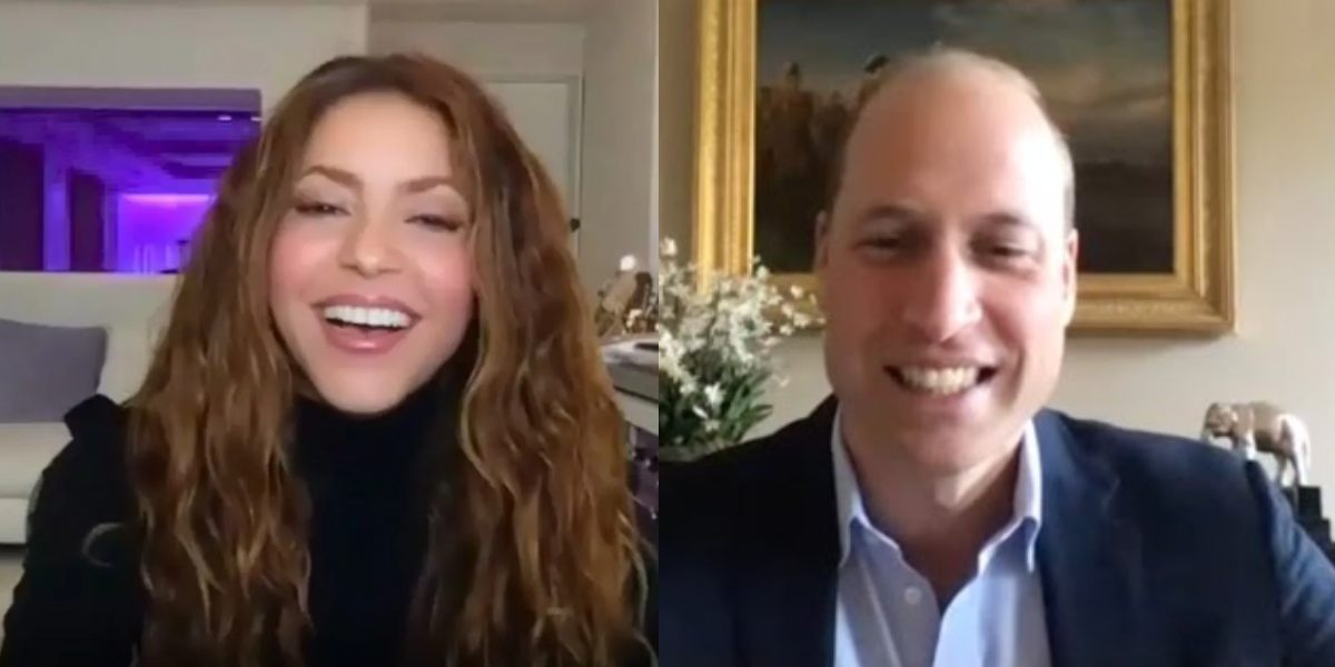 video shakira conversacion principe william premio earthshot