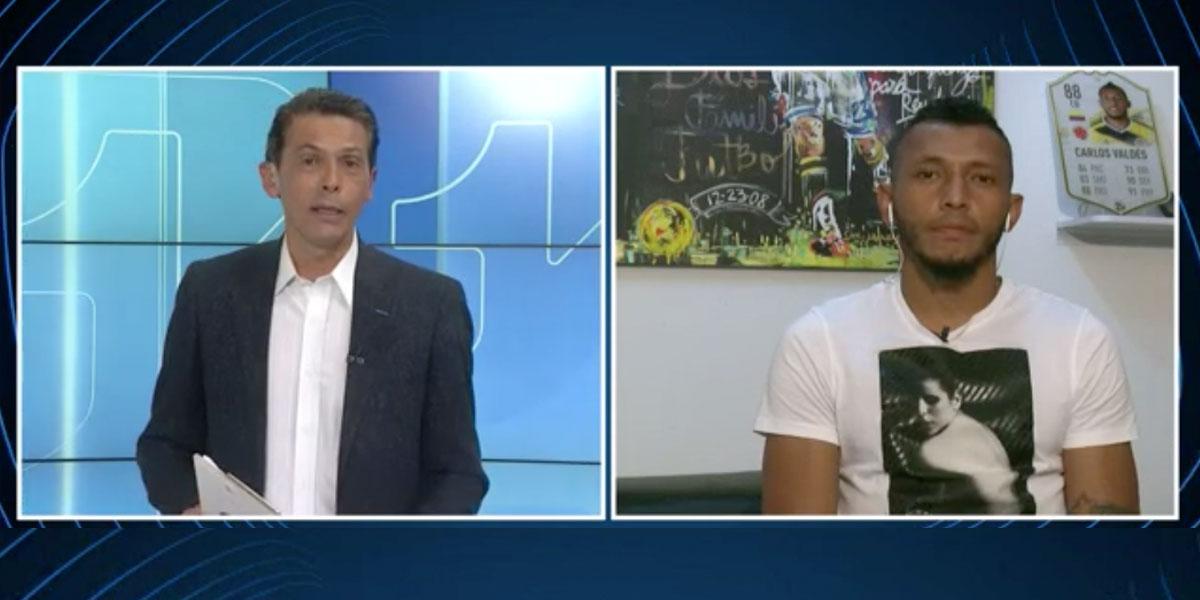 Entrevistas Canal 1: Carlos Valdés analiza el partido Colombia Vs. Chile