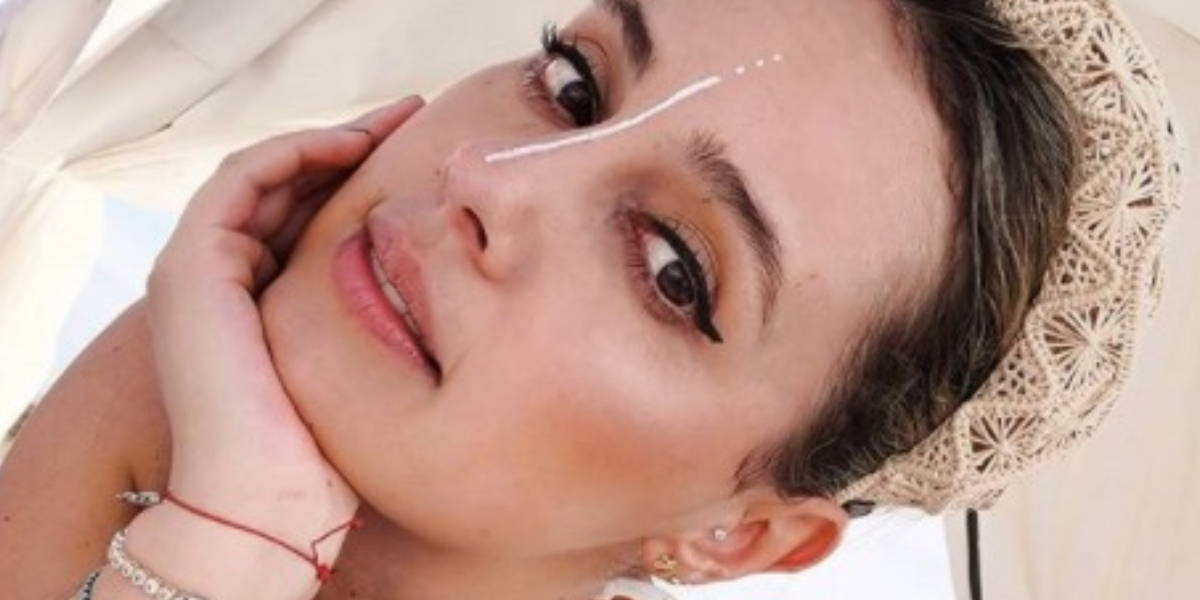 Milena López posó sin una gota de maquillaje