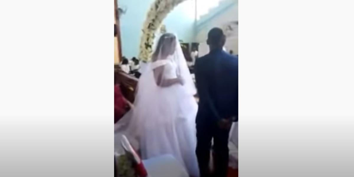 Mujer detuvo el matrimonio de su esposo en Zambia