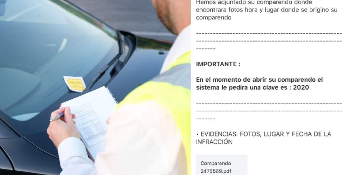 Denuncian falsos correos de SIMIT para el pago de supuestos comparendos