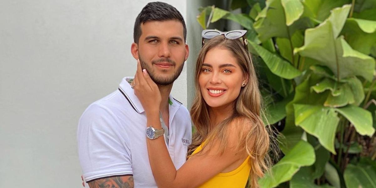 Camila Avella y marido