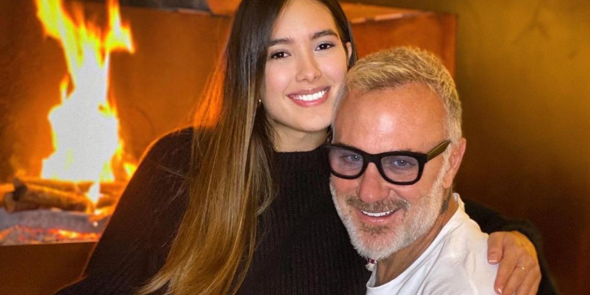 Con un curioso nombre, Gianluca Vacchi le dio la bienvenida a su primera hija