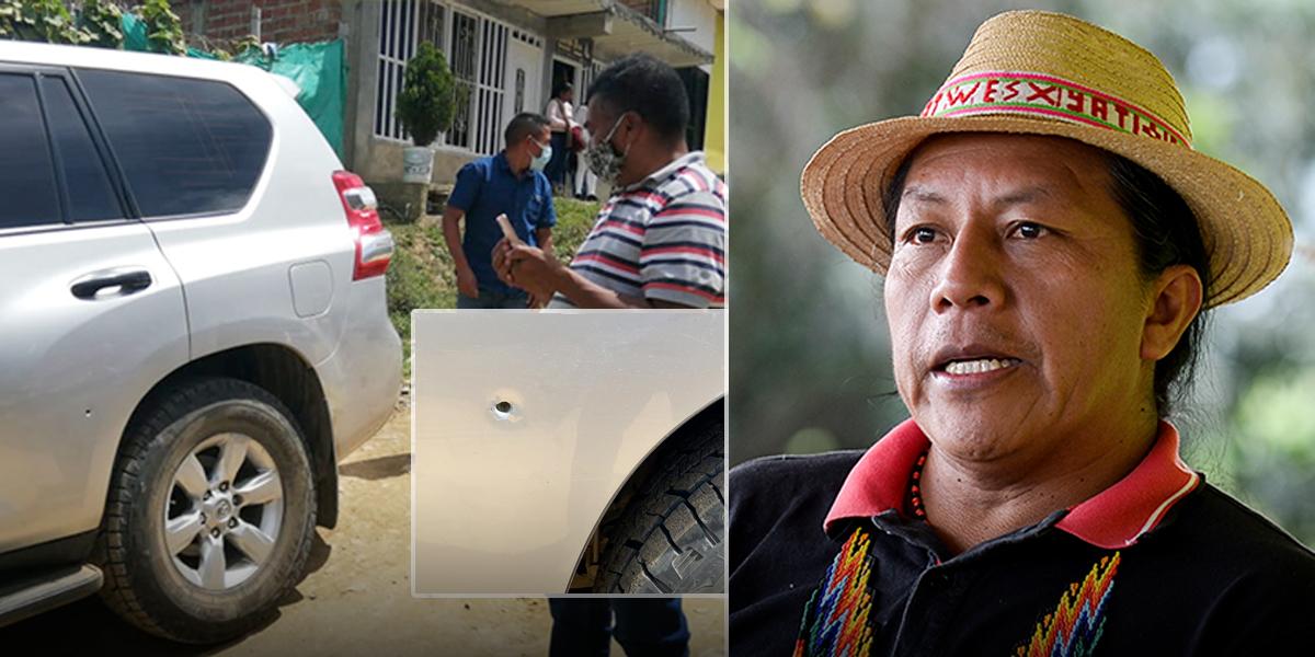 Senador Feliciano Valencia denuncia que sufrió un atentado - Noticentro 1  CM&