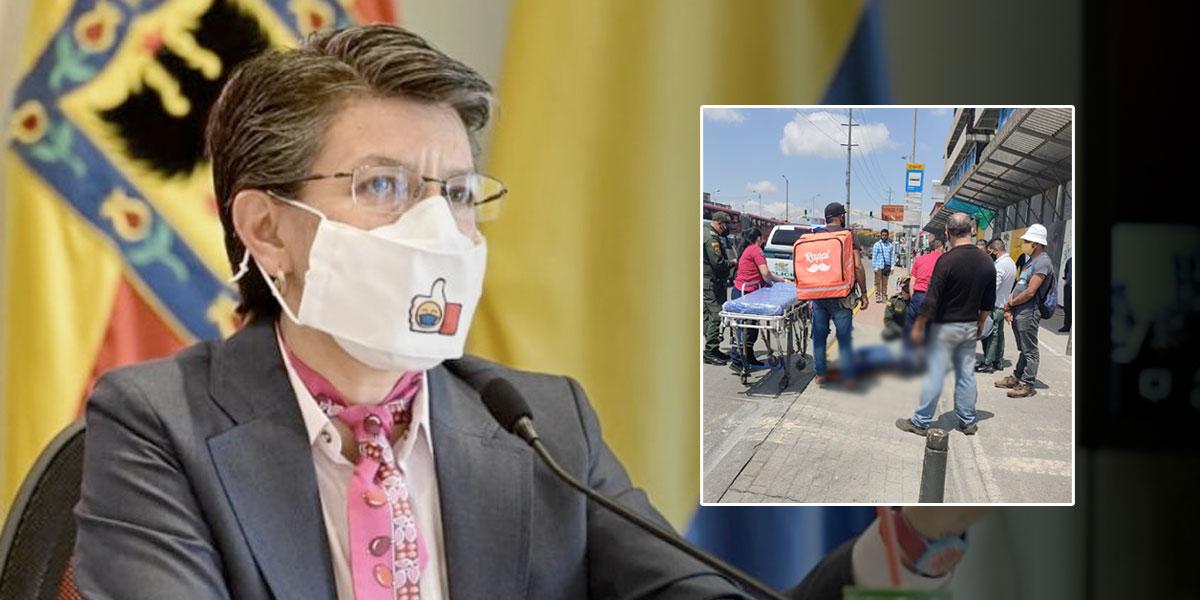 No hay derecho que a uno le roben la vida por un celular»: Claudia López  sobre asesinato en TransMilenio - Noticentro 1 CM&