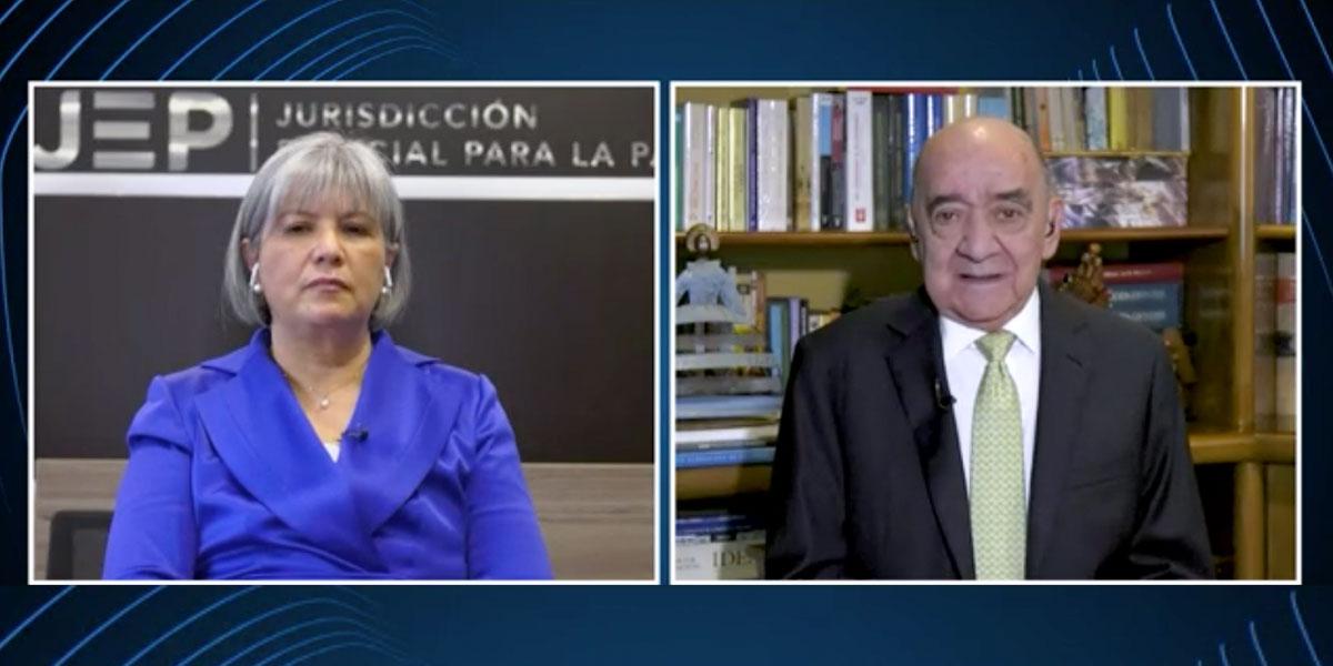 Presidenta de la JEP pide respeto por la autonomía de esa jurisdicción
