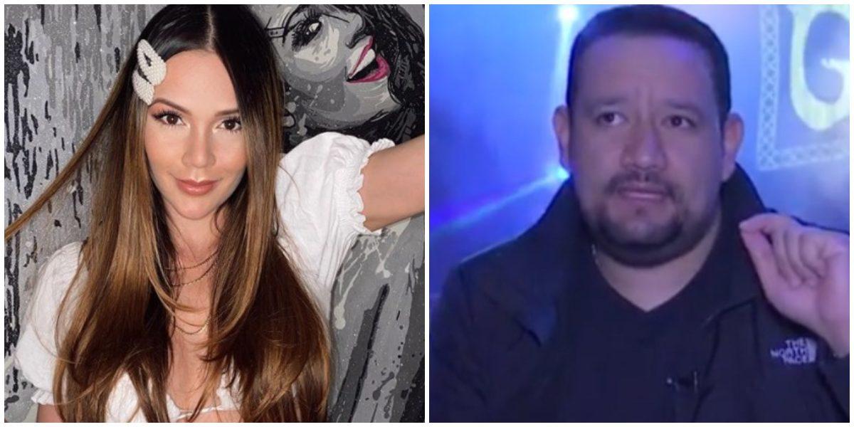 El comentario de Raúl Gasca que molestó a Lina Tejeiro