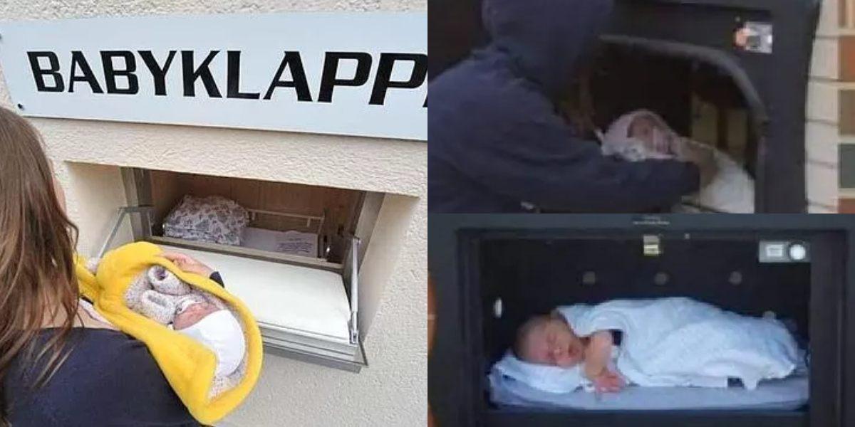 buzón bebés