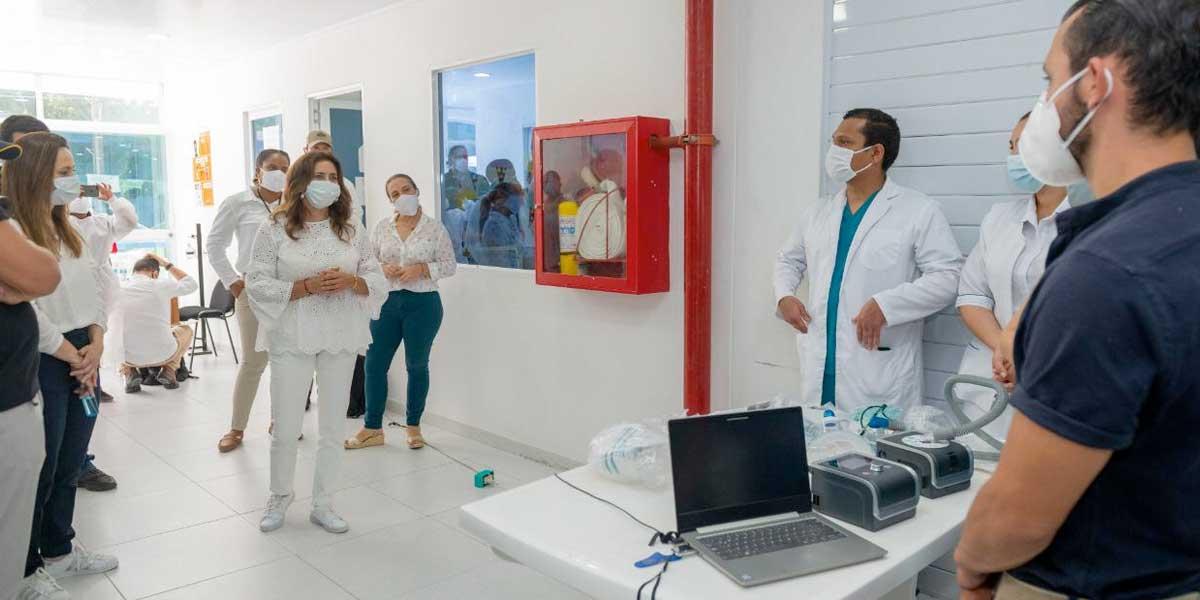 Primera dama entregó 15,2 toneladas de ayudas humanitarias en San Andrés y Providencia
