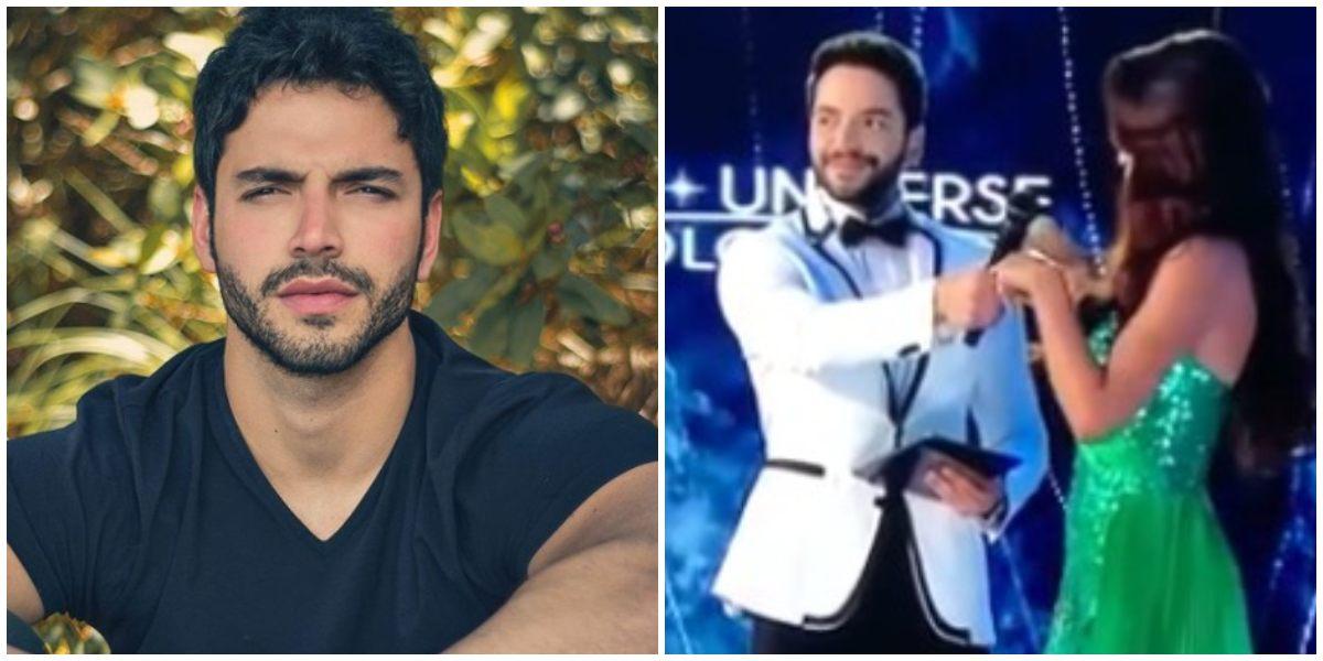 Sebastián Carvajal le puso el micrófono a una representante con discapacidad auditiva en Miss Universe