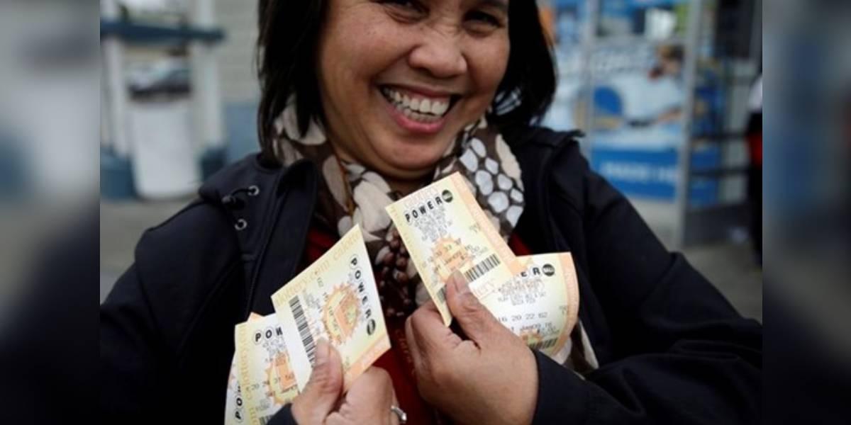 La lotería estadounidense Powerball sortea 700 mil millones de pesos y esto debes hacer para participar