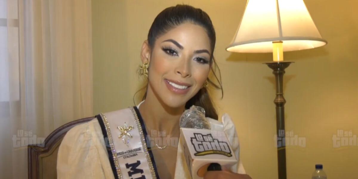 Laura Olascuaga, Miss Universe Colombia, responde a las críticas que ha recibido por su elección