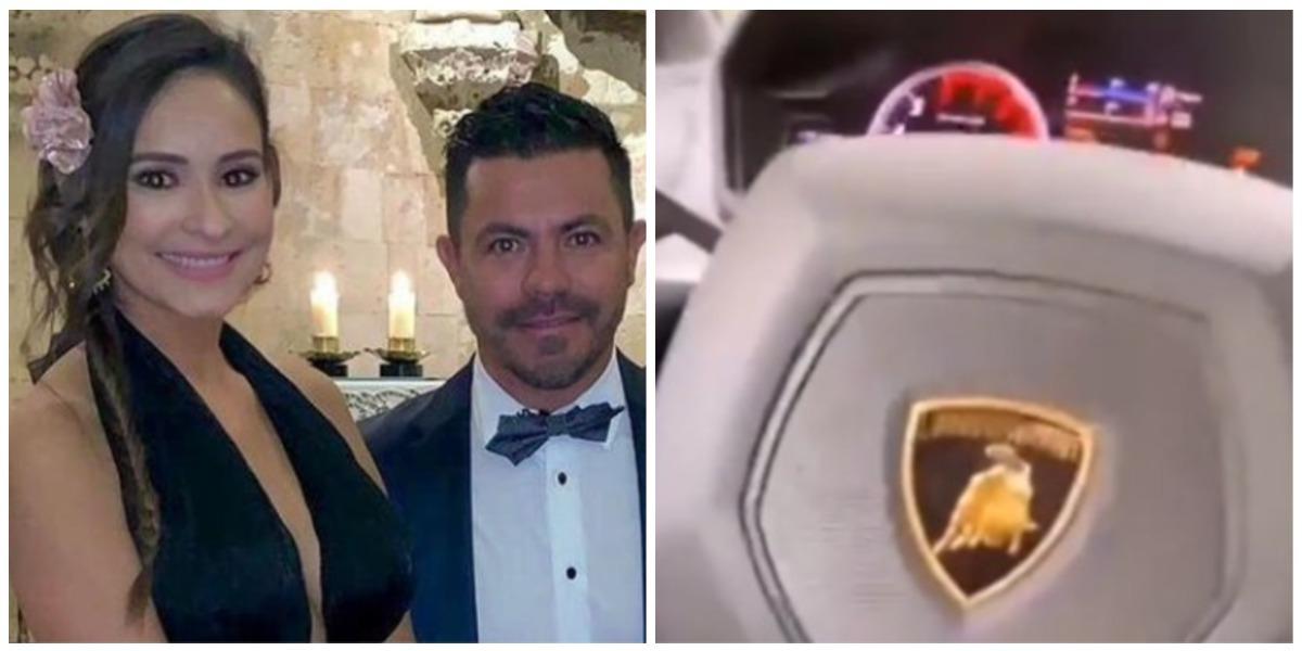 Carolina Rojas, ex Piter Albeiro, presumió su Lamborghini