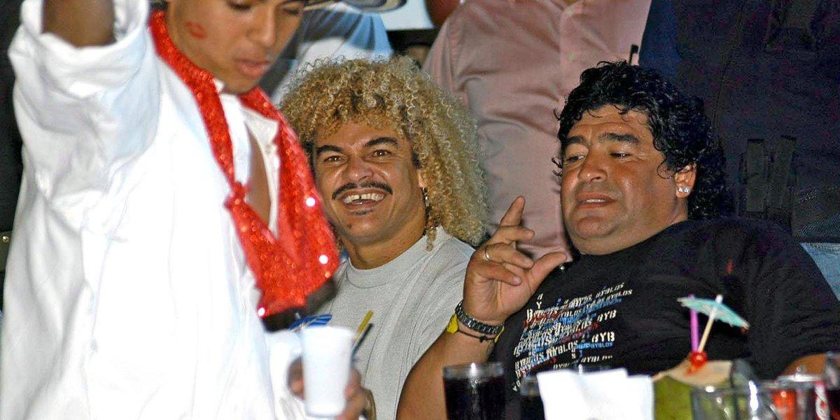 Diego Maradona en Colombia