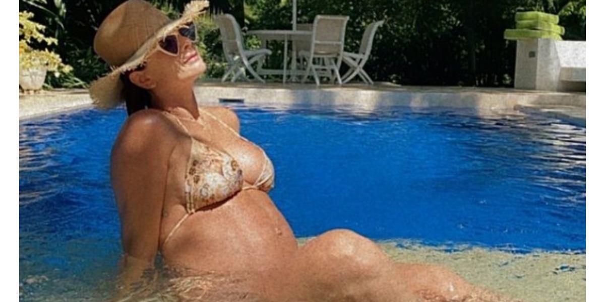 Carolina Cruz disfruta del embarazo de Salvador