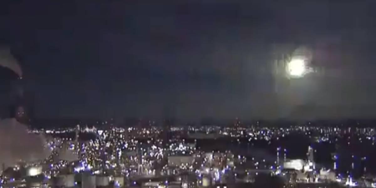 Meteorito cayó en el cielo de Japón
