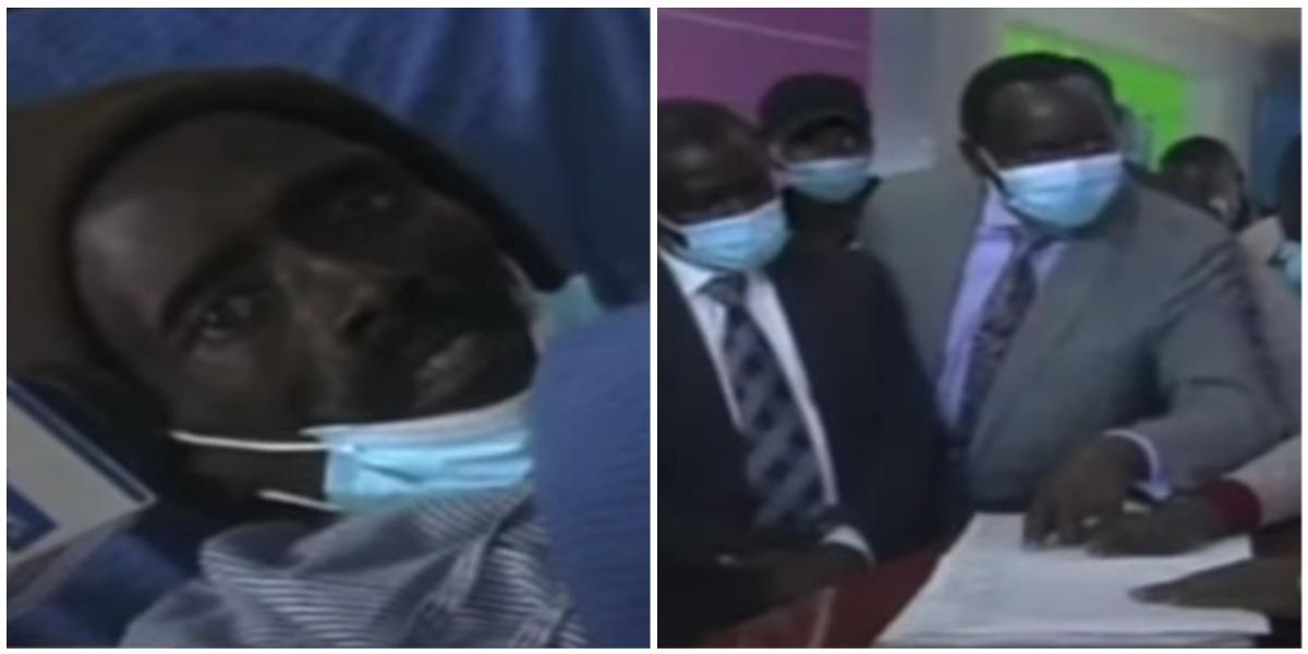 Peter Kigen declarado muerto resucitó morgue Kenia